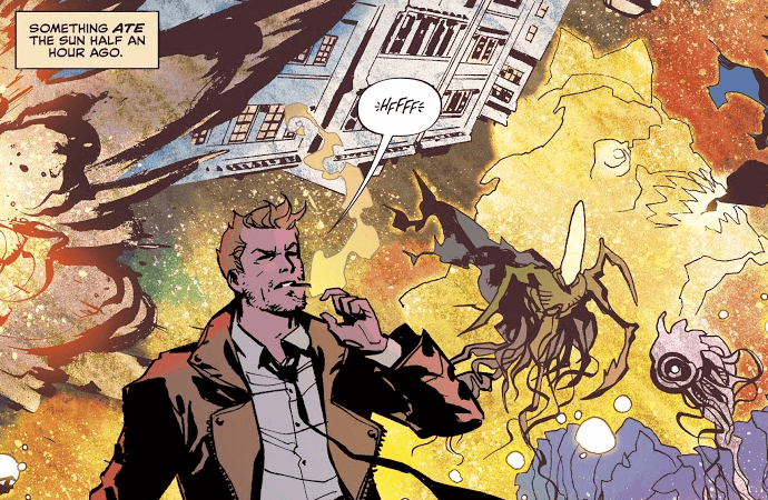 The Sandman Universe Presents: Hellblazer #1's John Constantine is the Best Kind of Garbage
