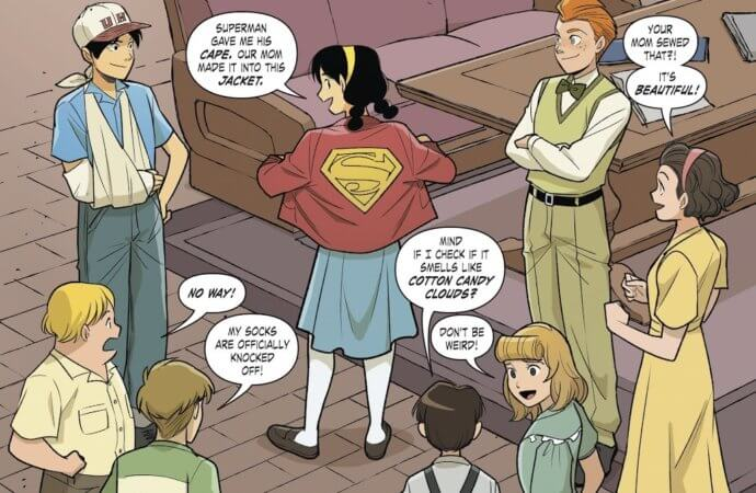 Superman Smashes the Klan Part Two Aims for the Heart