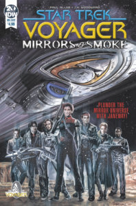 Star Trek: Voyager: Mirrors & Smoke IDW Publishing