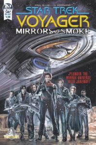 Star Trek: Voyager: Mirrors & Smoke IDW Publishing