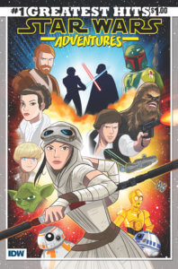 Star Wars Adventures: Greatest Hits #1 IDW Publishing