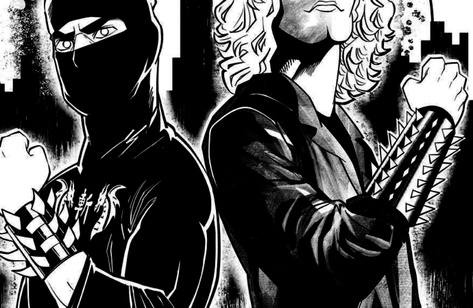 Ninja Sex Party's Coloring Book Brings Two Seconds of Ecstasy