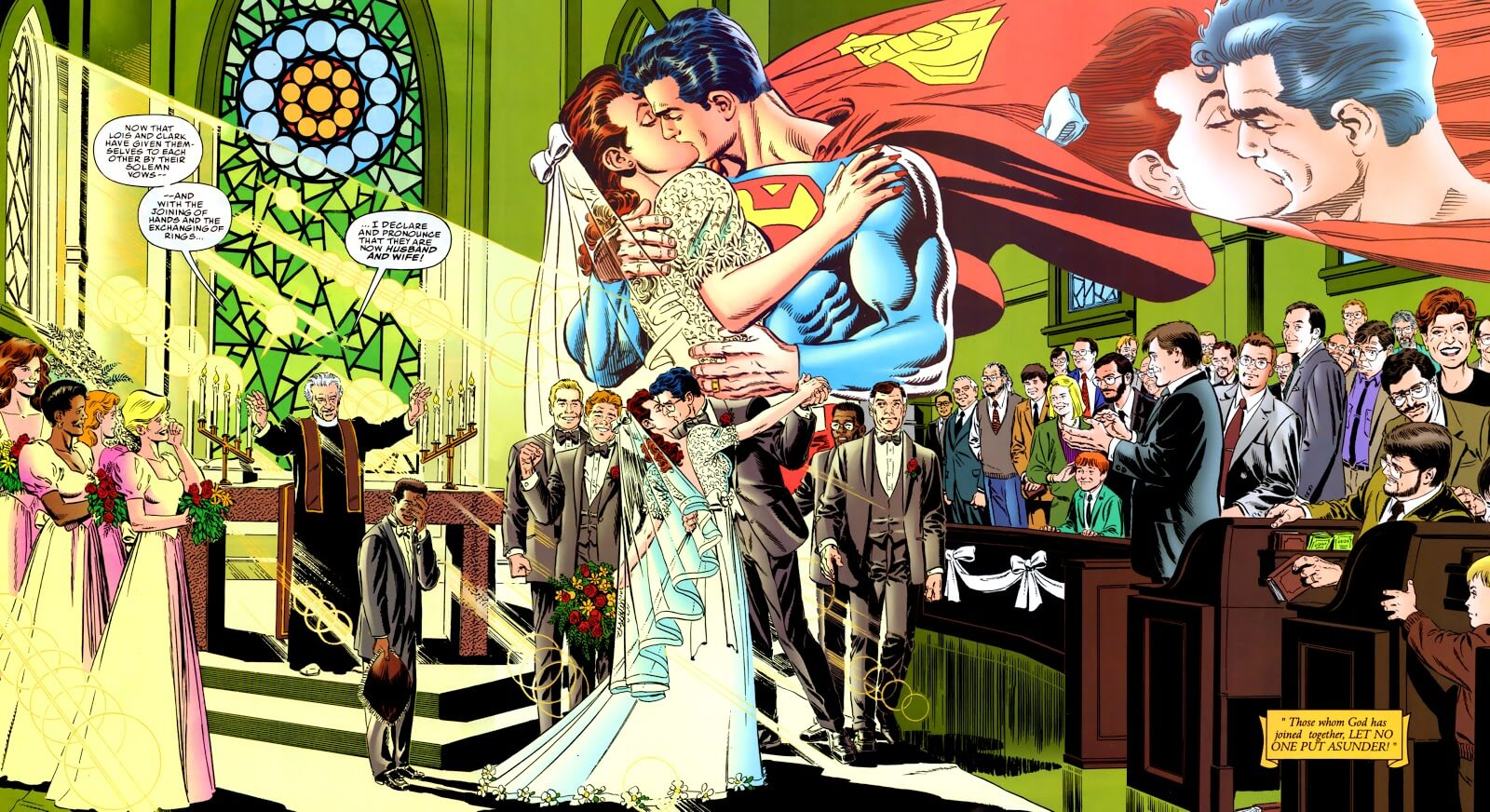 The Wedding Issue Grand Finale: Superman and Lois Lane - WWAC