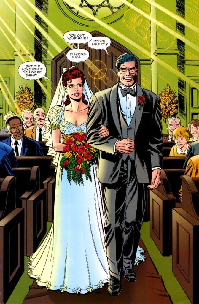 superman wedding