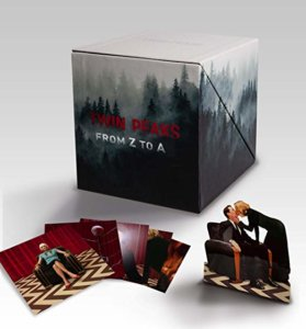 A box set of Blu-rays with extra figures