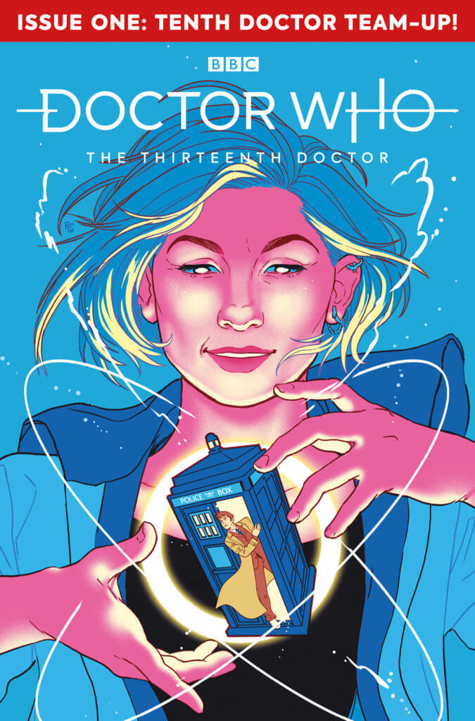 Doctor Who: Thirteenth Doctor Year 2 #1 Cover A by Paulina Ganucheau.