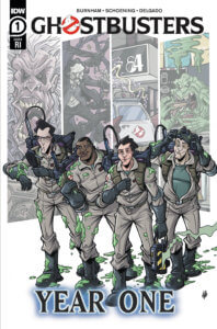 Ghostbusters: Year One #1 Cover RI