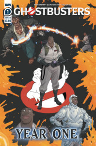 Ghostbusters-Year One #1-Cover A. IDW Publishing