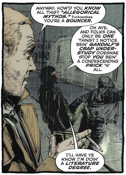 Aaron Campbell, Jordie Bellaire, Aditya Bidikar, DC Comics, 2019, John Constantine: Hellblazer #1