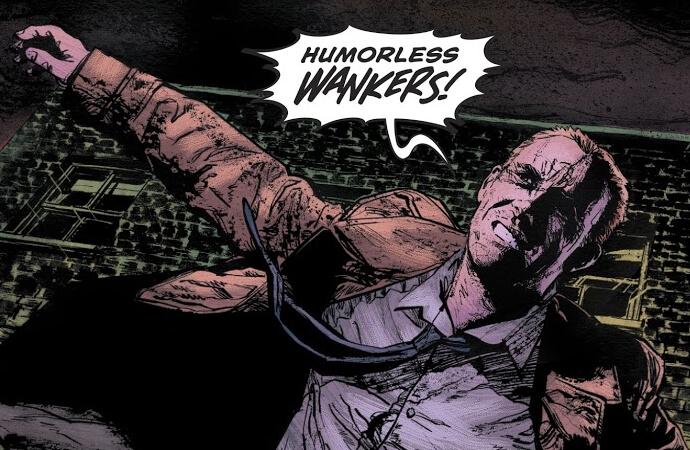 John Constantine: Hellblazer #1: Dark, Dangerous, and Delightful