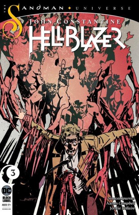 John Paul Leon, DC Comics, 2019, John Constantine: Hellblazer #3