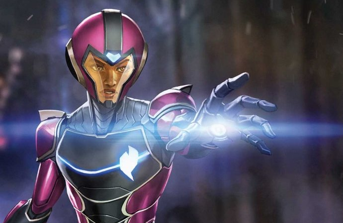 Cover Reveal: Ironheart 2020 #1