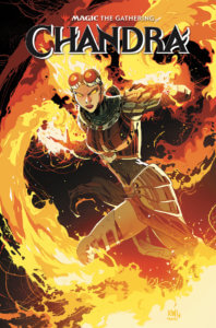 Magic: The Gathering: Chandra TPB Cover A IDW Publishing