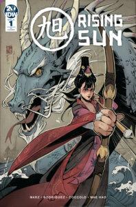Rising Sun #1 Cover RI IDW Publishing