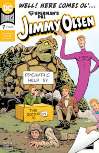 The many personas of Jimmy Olsen