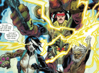 X-Force #5 Takes an Eye for an Eye