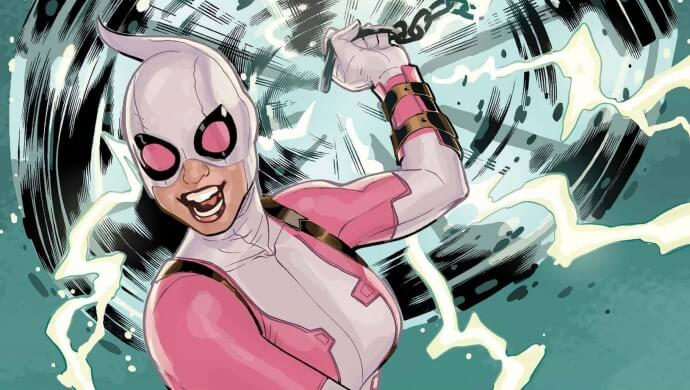 Gwenpool Strikes Back #4 cover by Terry Dodson
