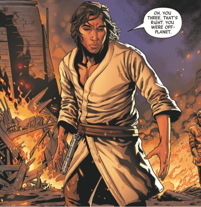 Star Wars: The Rise of Kylo Ren,, Issue 1, Marvel, 2019, art by Will Sliney