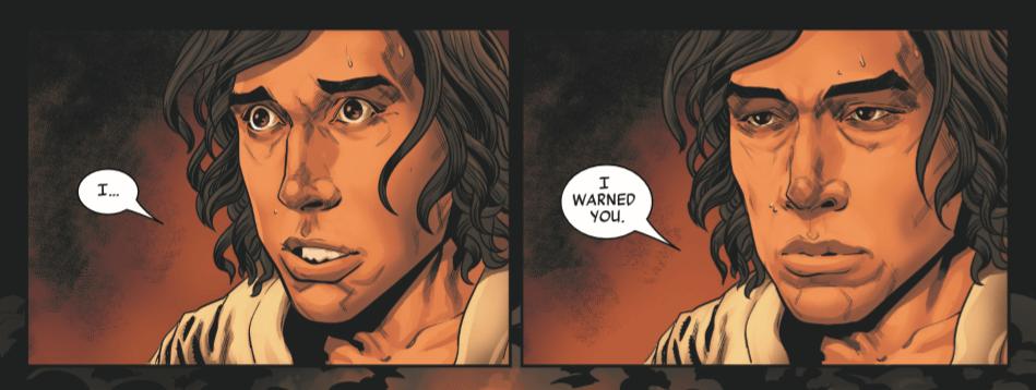 Star Wars: The Rise of Kylo Ren, Issue 1, Marvel, 2019, art by Will Sliney & GURU-eFX
