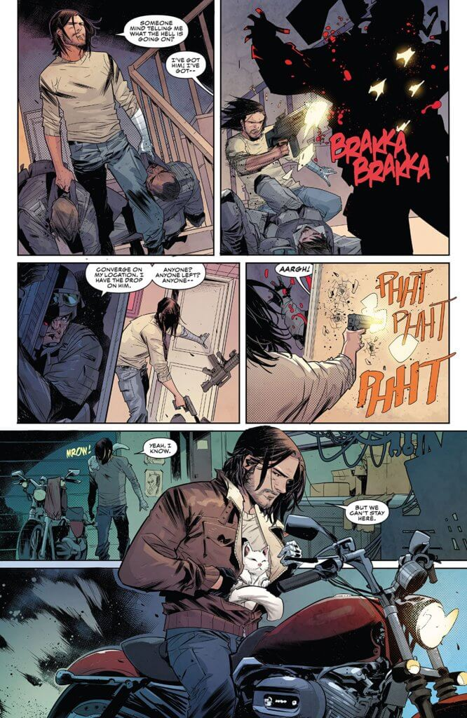Falcon & Winter Soldier # 1 Page 3. Marvel Comics. February 2020