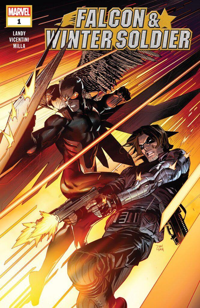Falcon & Winter Soldier # 1 Cover A. Marvel Comics. February 2020