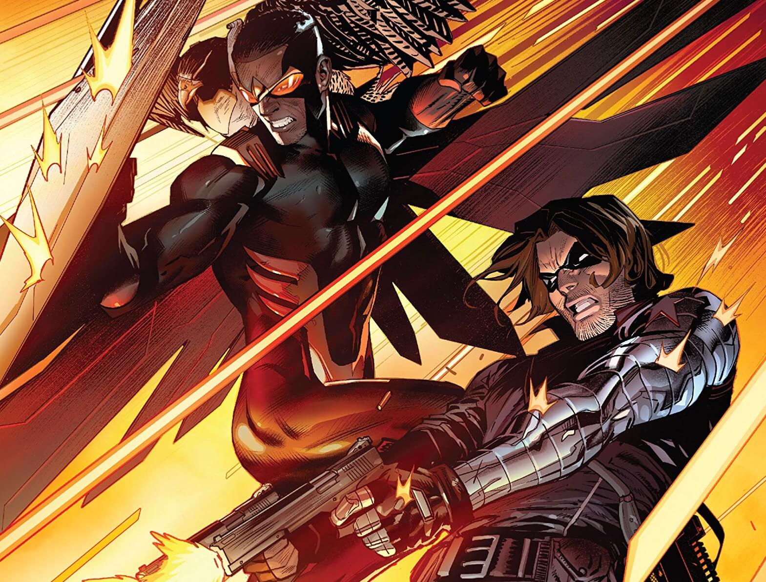 Falcon & Winter Soldier # 1 Cover A
