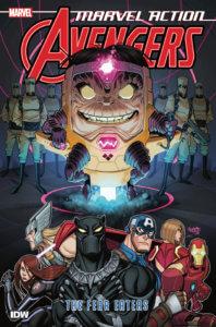 Avengers_TPB_vol3_Cvr. IDW Publishing