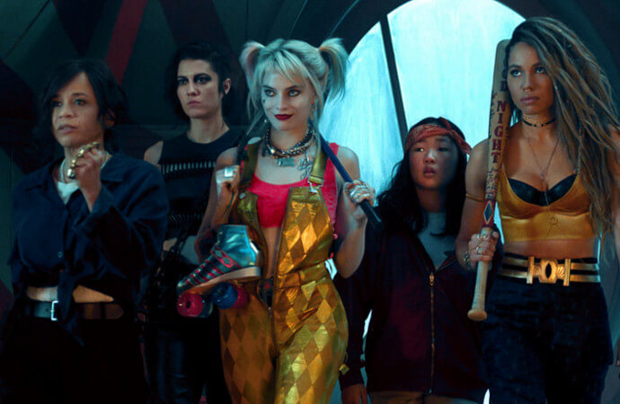 Photo of main characters in Birds of Prey