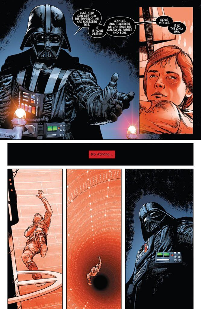 Darth Vader #1 Page 4 Marvel Comics February 2020