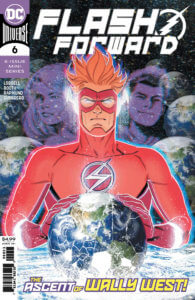 Wally West holding the earth - February 2020