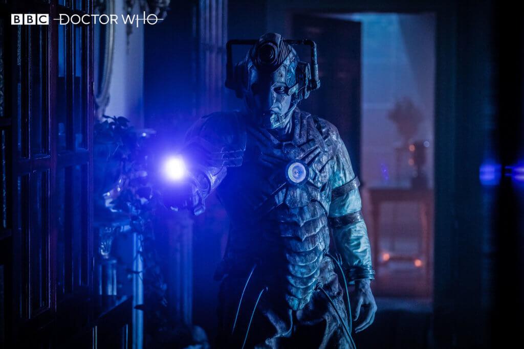 The Lone Cyberman strikes
