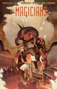 The Magicians #4, cover by Qistina Khalidah, Archaia, 2020