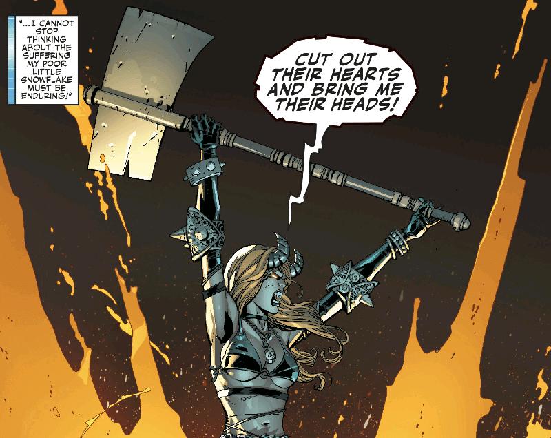 Darkchylde yelling her bloodlust