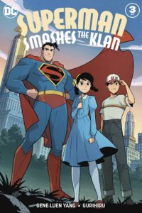 Superman with Roberta and Tommy - February 2020