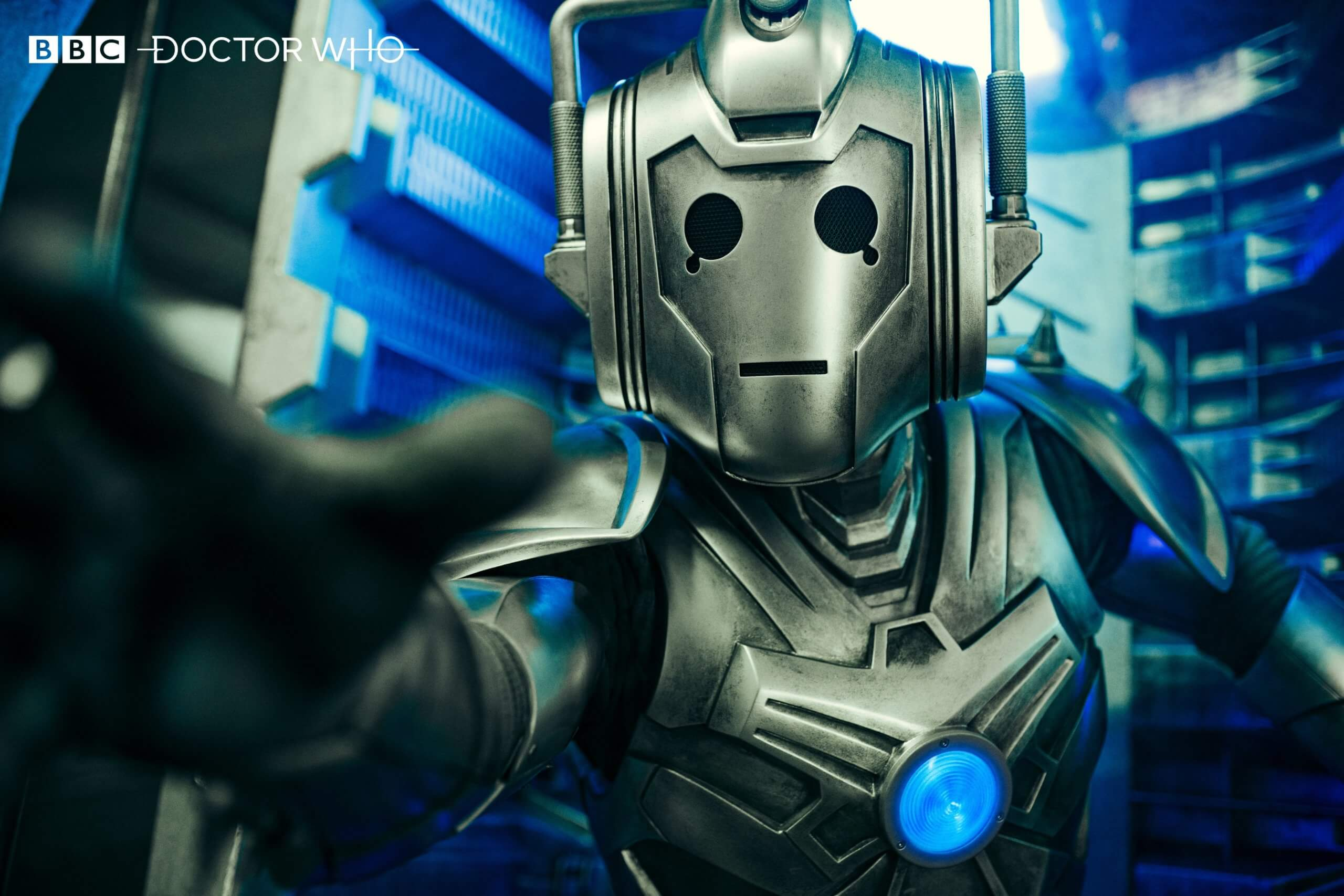 "The ""Cyber Warrior"" from ""Ascension of the Cybermen"""