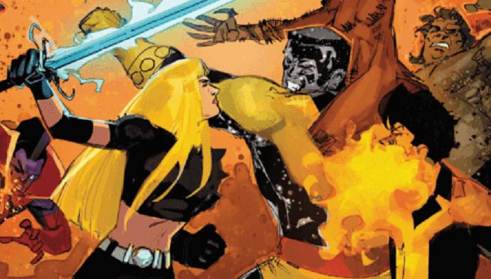 New Mutants #7: FIGHT!