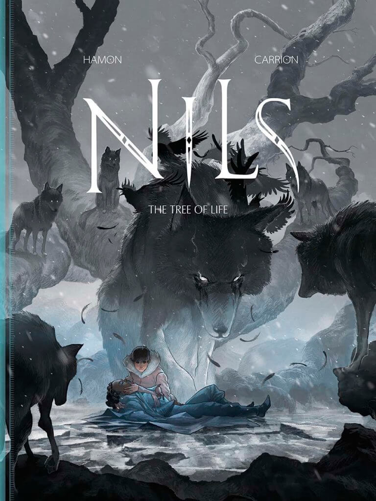 Cover of Nils: The Tree of Life, Jerome Hamon, Antoin Carrion, January 28, 2019, Magnetic Press