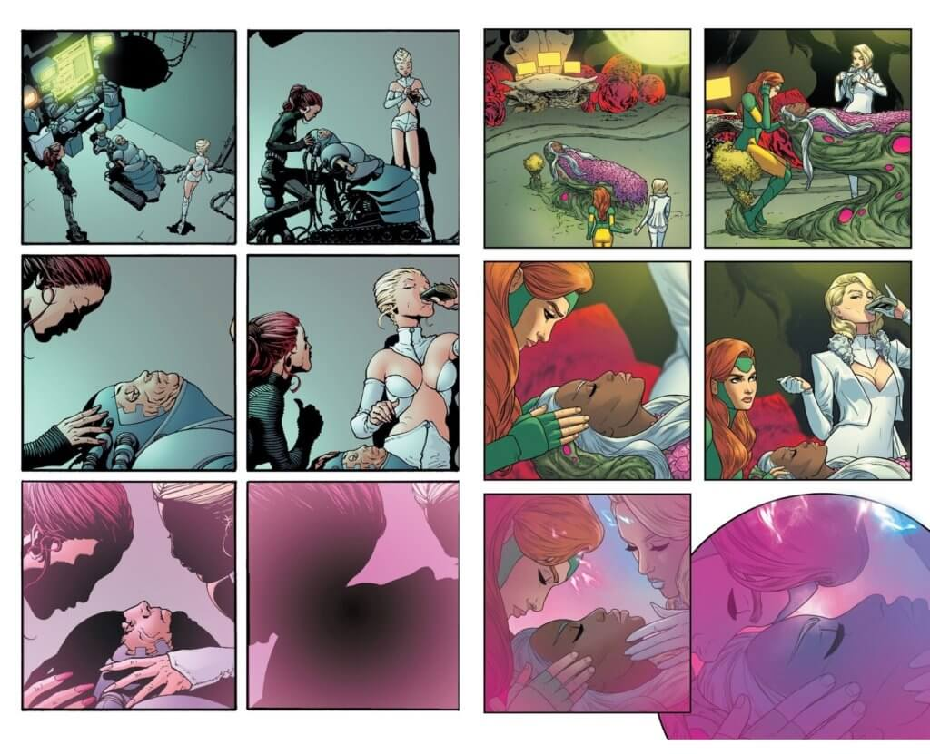 comparison between new x-men #121 and giant-size x-men #1