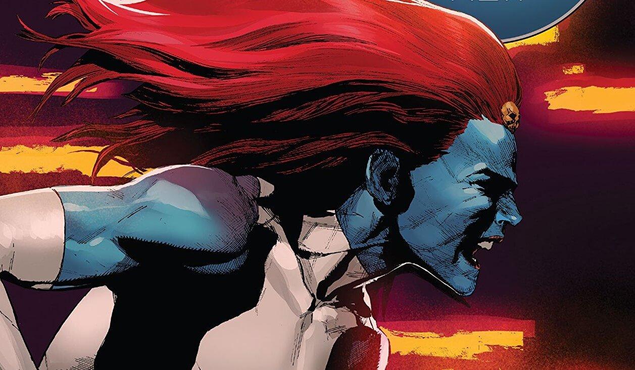 x-men #6 cover with mystique