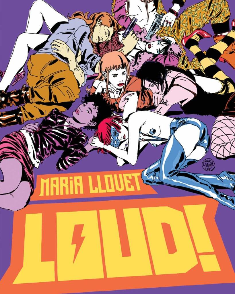 Loud, Maria Llovet, Black Mask, 2020