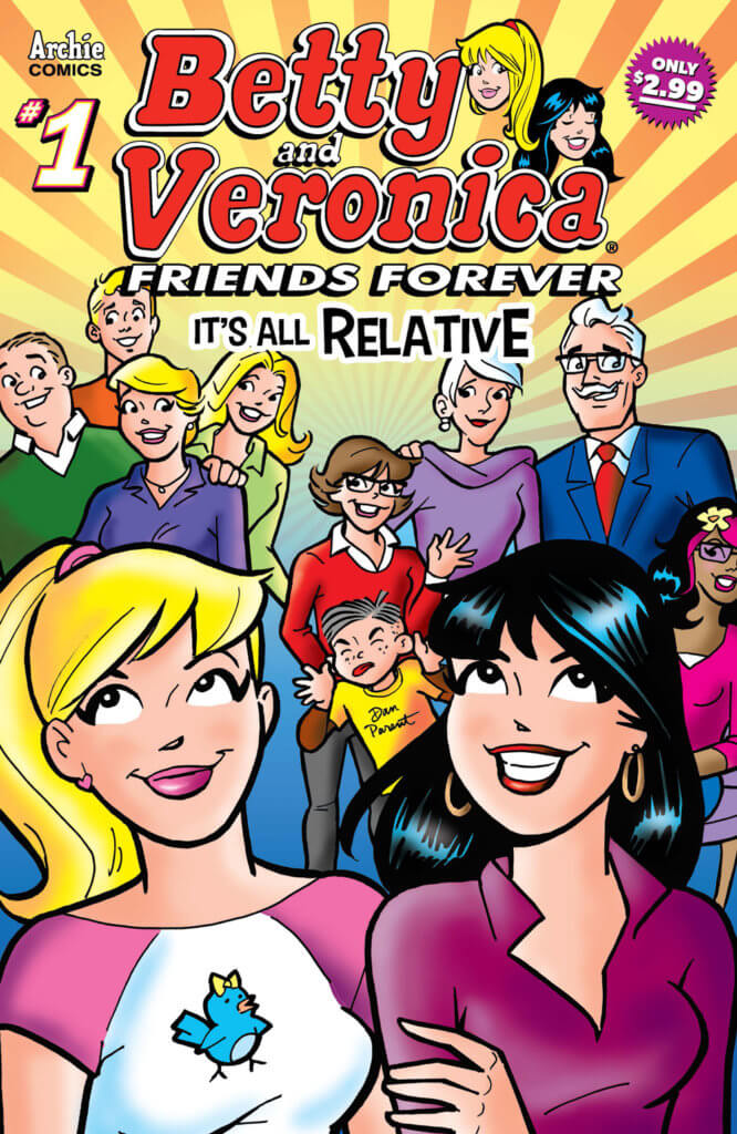 Betty & Veronica Friends Forever: It's All Relative #1. Archie Comics. March 2020