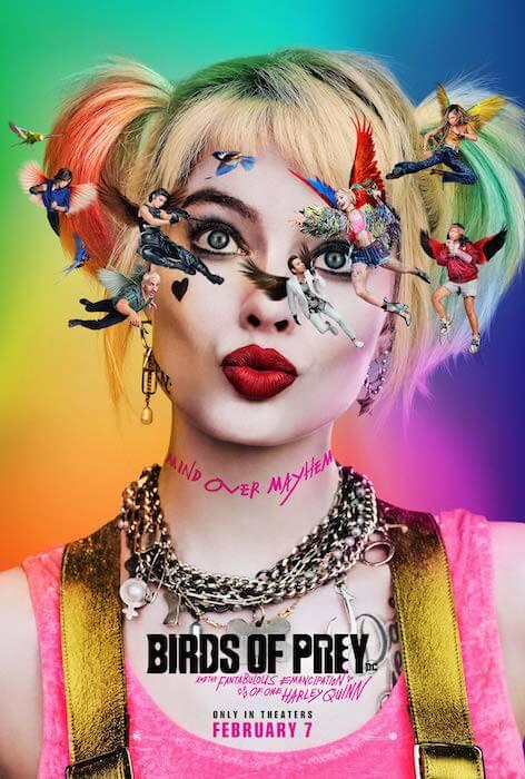 Birds of Prey Official Movie Poster from @birdsofpreywb on twitter.