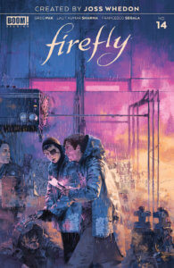 Firefly #14, cover by Marc Aspinall, BOOM! Studios, 2020