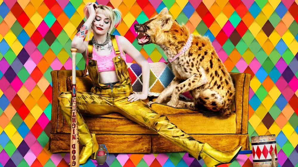 Harley + Hyena from dccomics.com