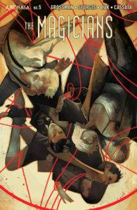 The Magicians #5, cover by Qistina Khalidah, BOOM! Studios, 2020