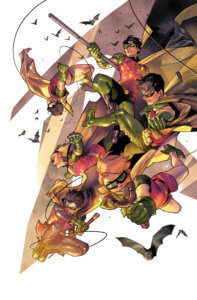 All the Robins leaping into action March 2020 DC Pubwatch