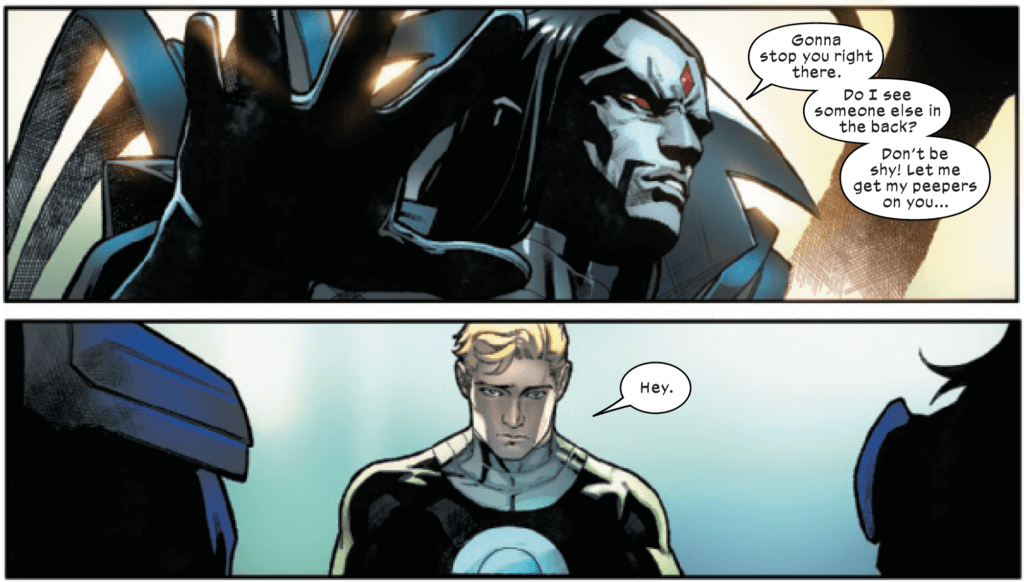 Sinister calling Havok out of the shadows