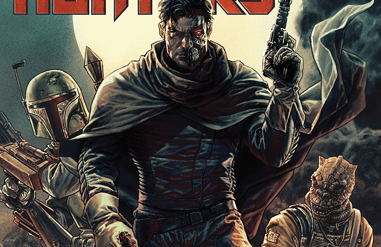 Star Wars - Bounty Hunters #1 Cover A by Lee Bermejo. Marvel Comics. March 2020.
