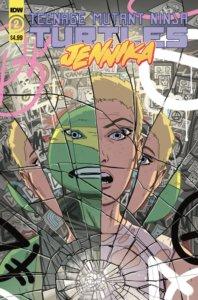 TMNT - Jennika #2 Cover A IDW Publishing