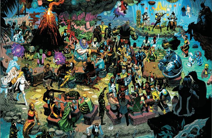 X-Force #9: Head Like a Hole